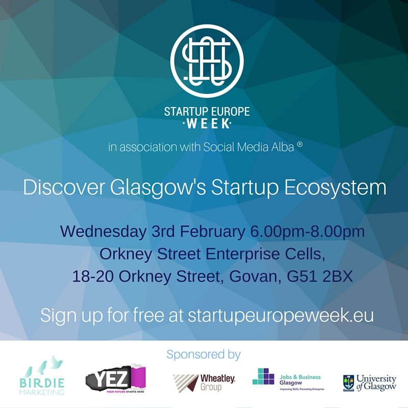 Startup Europe Week 2016 – Date for your diary!