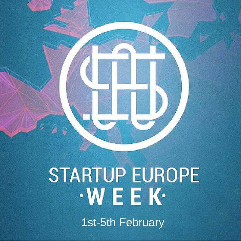 Getting ready for 'Start Up Europe Week' 2016!