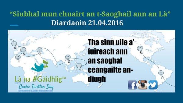Latha na Gaidhlig - h-uile Saoghal